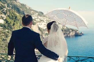 Fifties style wedding on the Amalfi Coast - Seascape