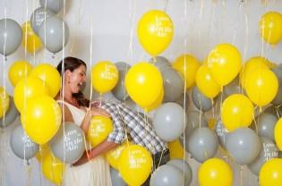 Balloon photo room