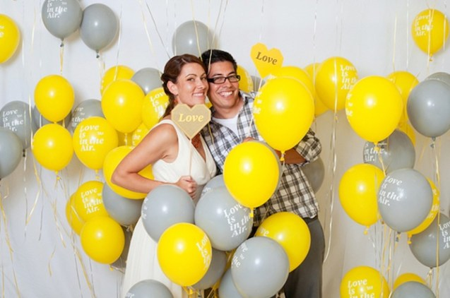 Balloon photo room