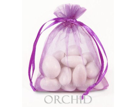 radiant orchid wedding favor bags