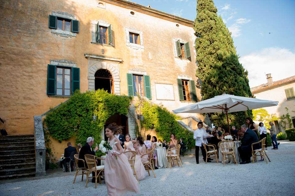 Wedding Cocktail at Villa di Ulignano