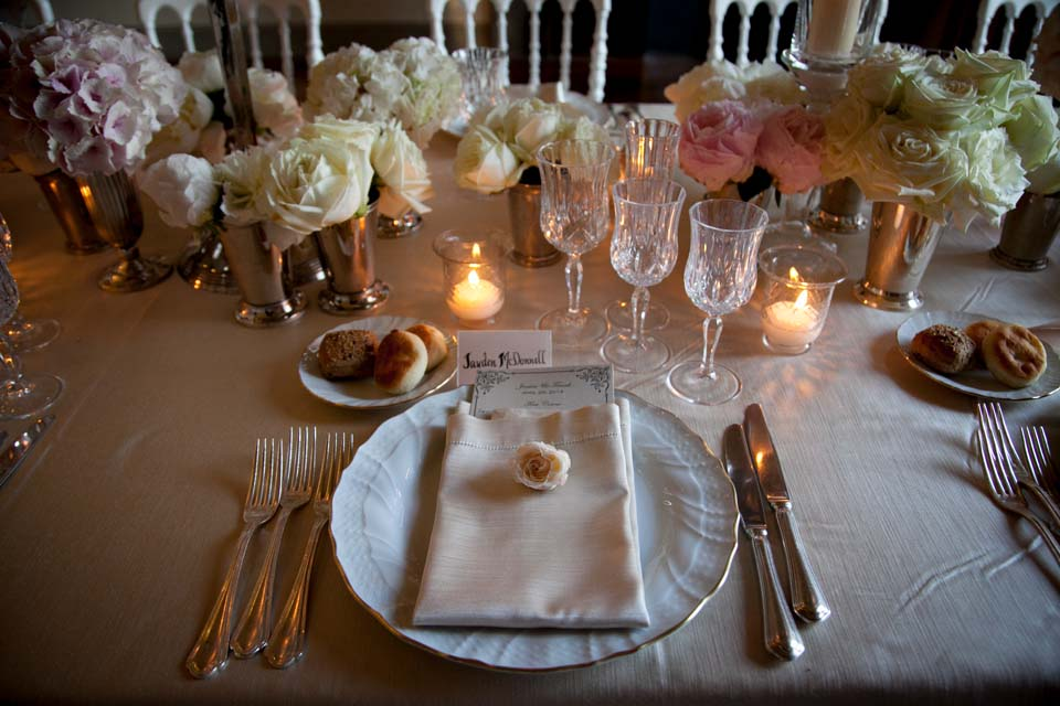 Decoration for Wedding in a Tuscan Villa