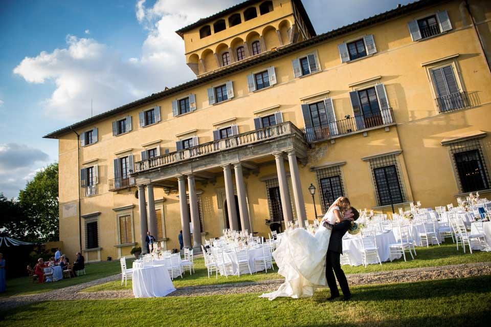 Florence villa for wedding receptions