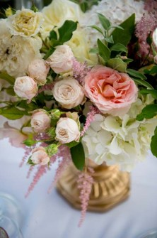 Pastel flowers for Florence wedding