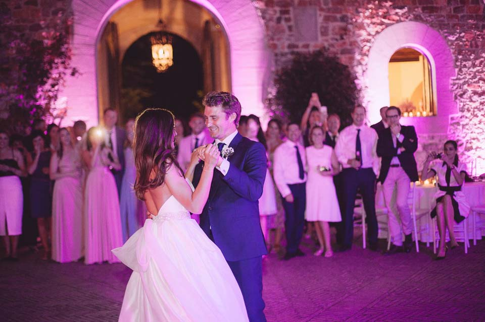 Castle wedding in Tuscany