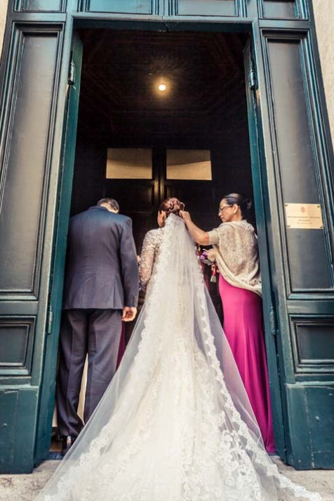 Entrance of the bride