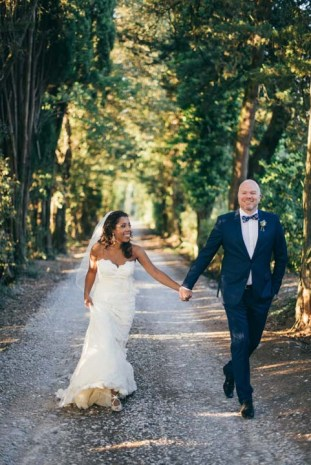 Wedding in the Tuscan countryside