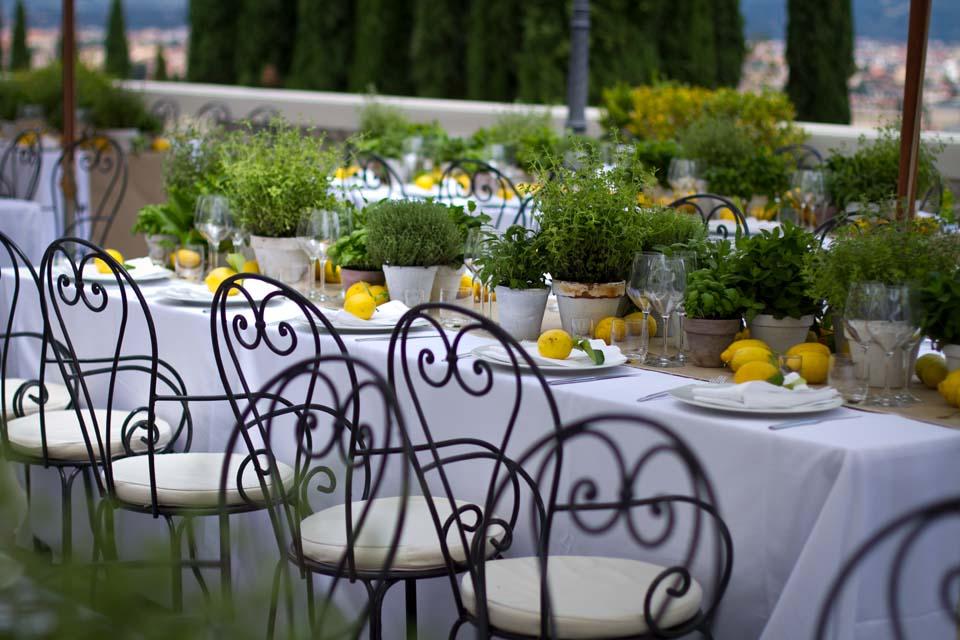 Rehersal dinner at Villa La Vedetta