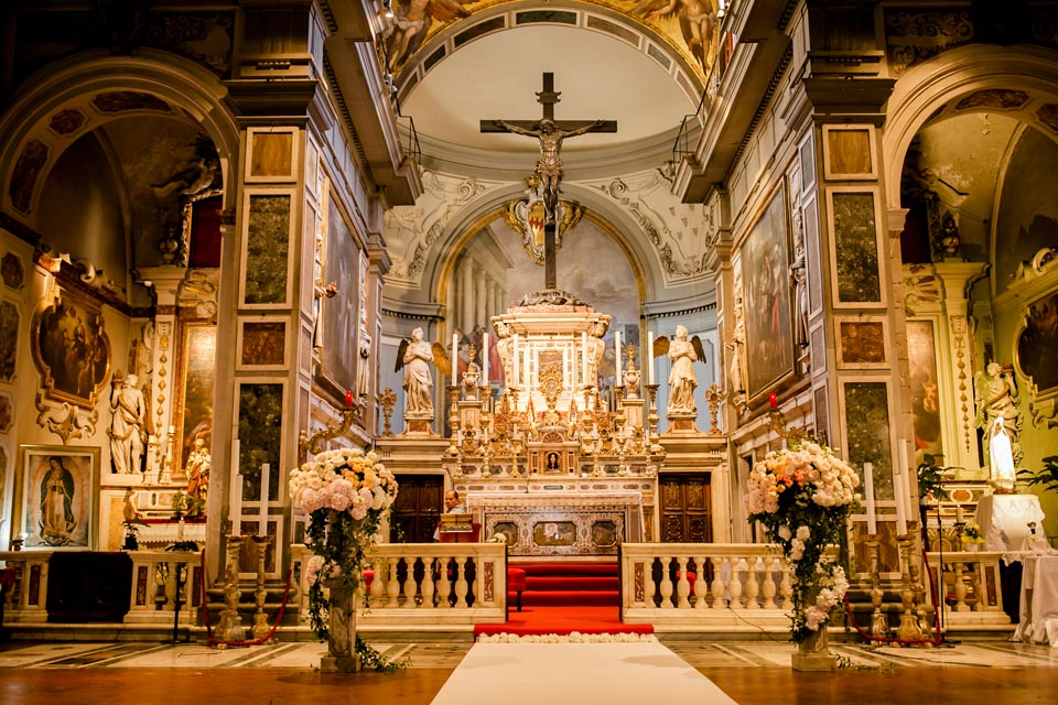 Church for weddings in Florence