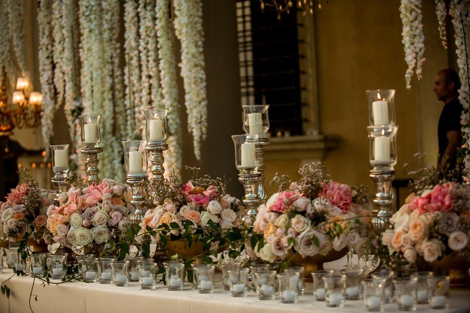Wedding Banquet in Florence Villa
