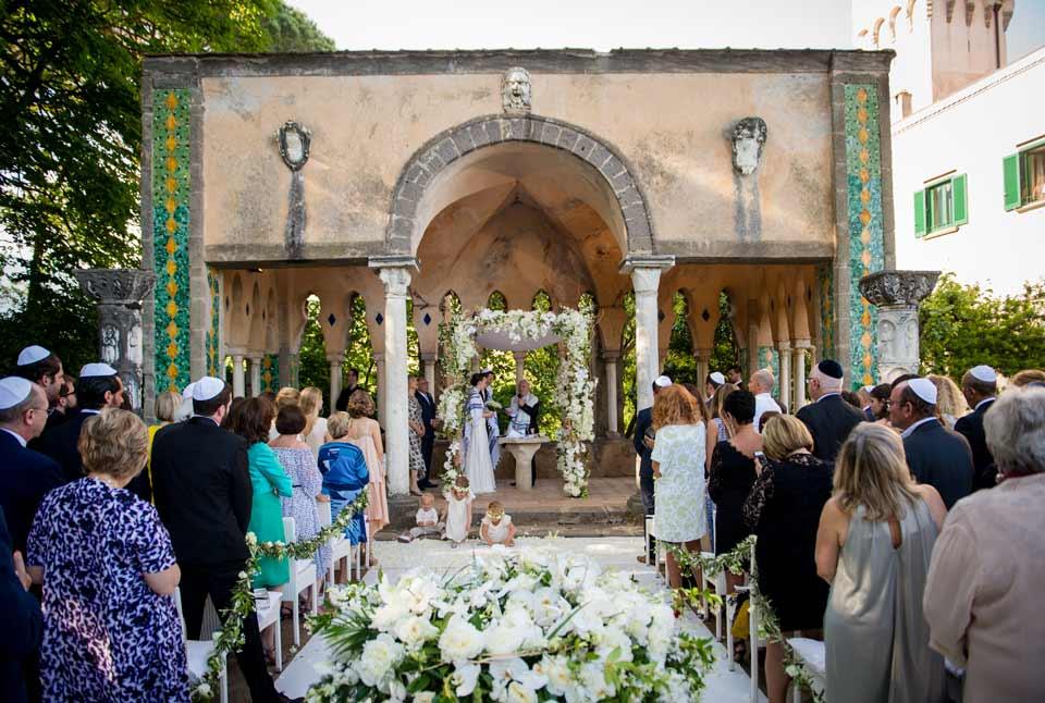Jewish wedding in Ravello
