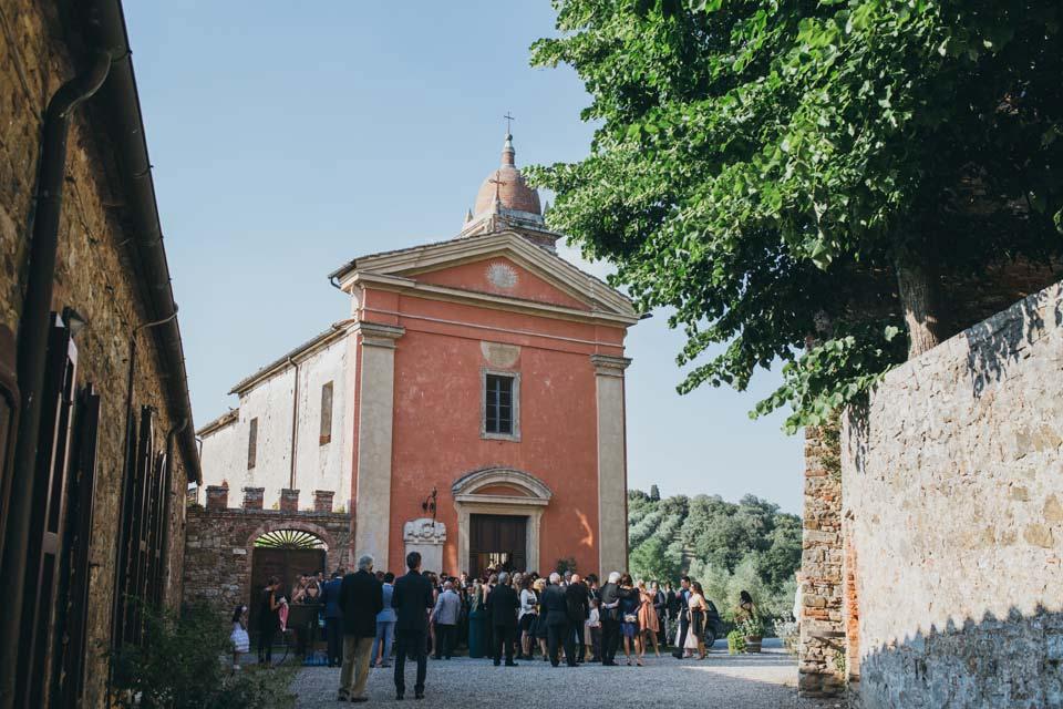 Church for Catholic weddings in Tuscany
