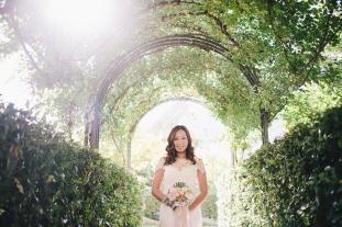 Hotel Caruso wedding: portrait of the bride