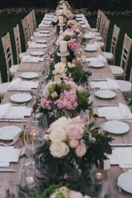 Weddings in Italy: outdoor reception on the Amalfi Coast