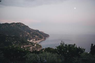 Full moon over Ravello