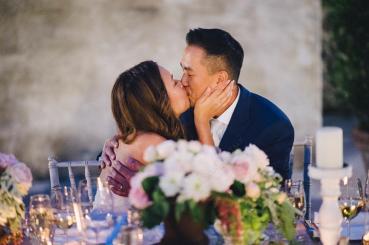Romantic wedding in Italy