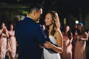 Weddings in Italy: first dance for the bridal couple