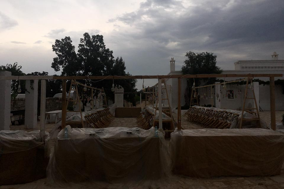 Stormy day in Puglia