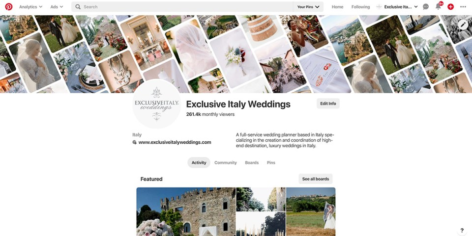 Exclusive Italy on Pinterest