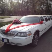 Feldíszített Lincoln 10 személyes