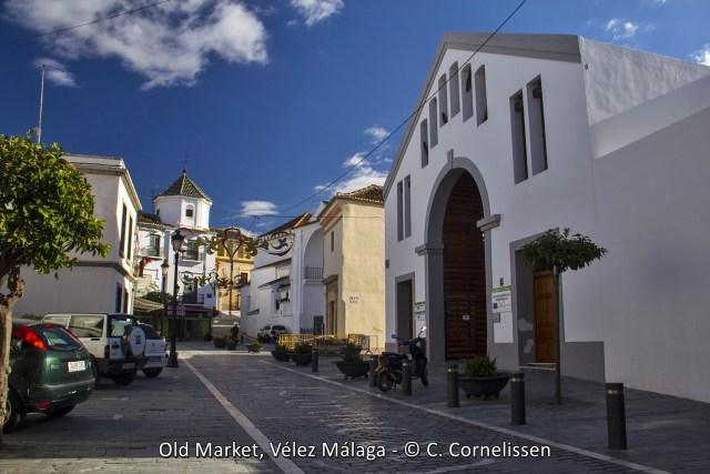 The old market from Vélez Málaga