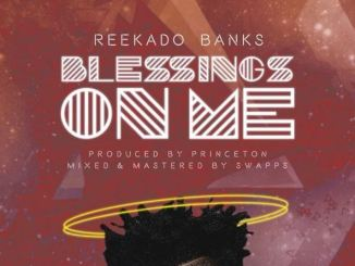 reekado banks blessing on me