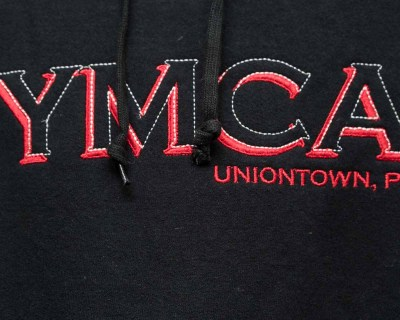 PULLOVER – JERZEE	HOODIE YMCA – Size XL