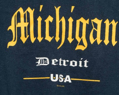 T-SHIRT – AAA –  MICHIGAN – Size L