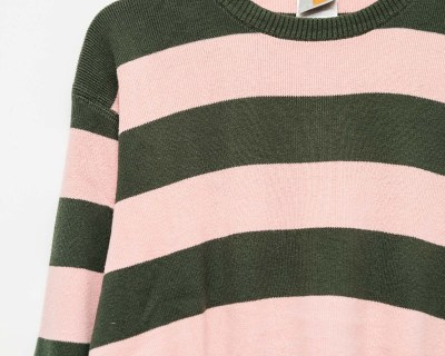 PULLOVER – CARHARTT – TRICOT STRIPED – Size XL