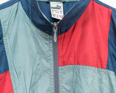 JACKET – PUMA – TRACK SPORT LOGO EMBROIDERED – Size XL