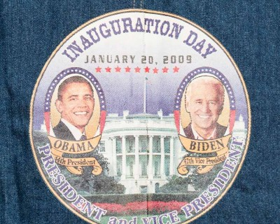 VEST – WAN – INAUGURATION DAY 2009 OBAMA- Size L