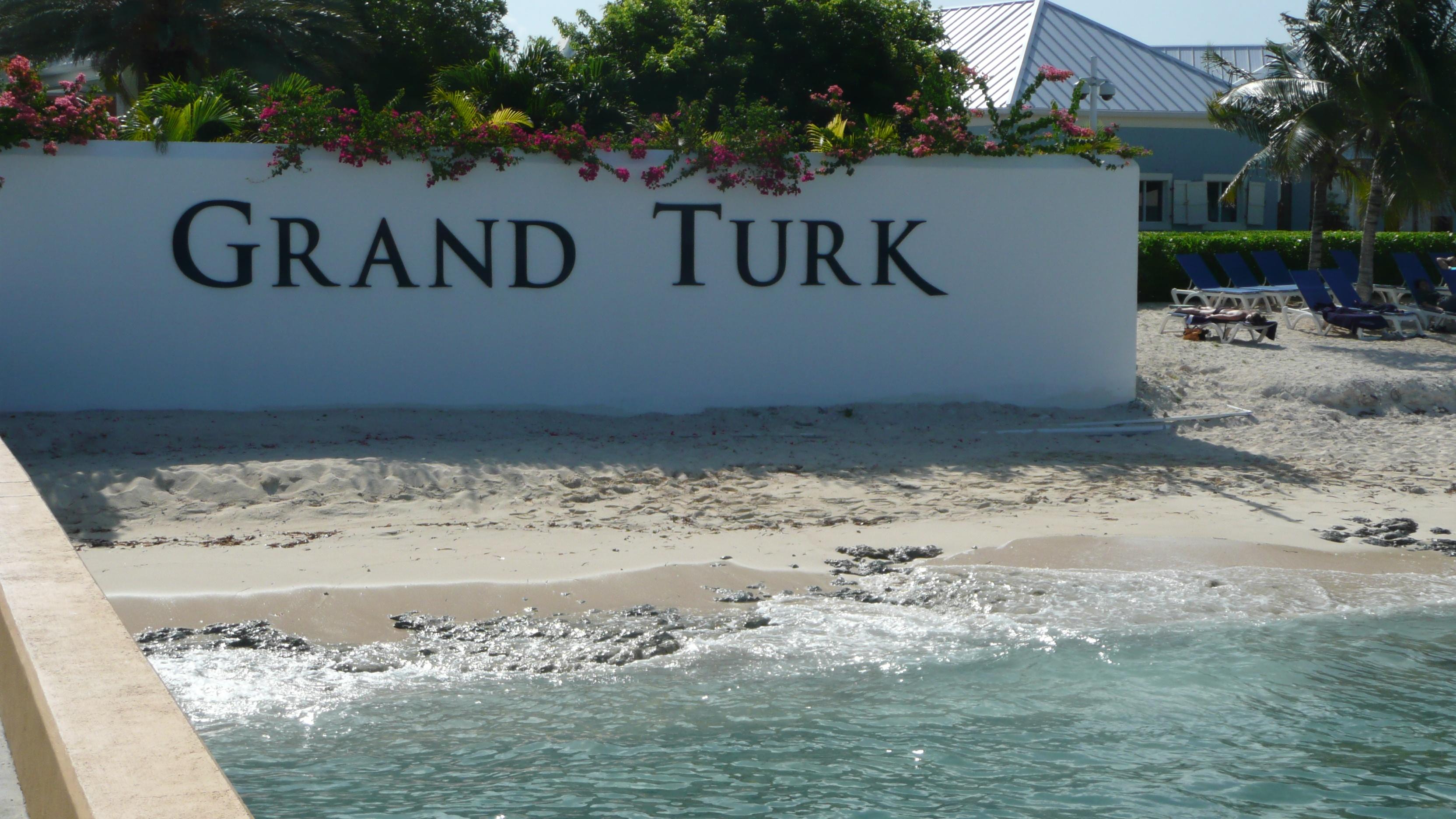 Grand Turk Turks And Caicos Islands Shore