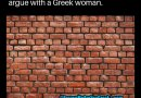 Arguing with a Greek Woman?