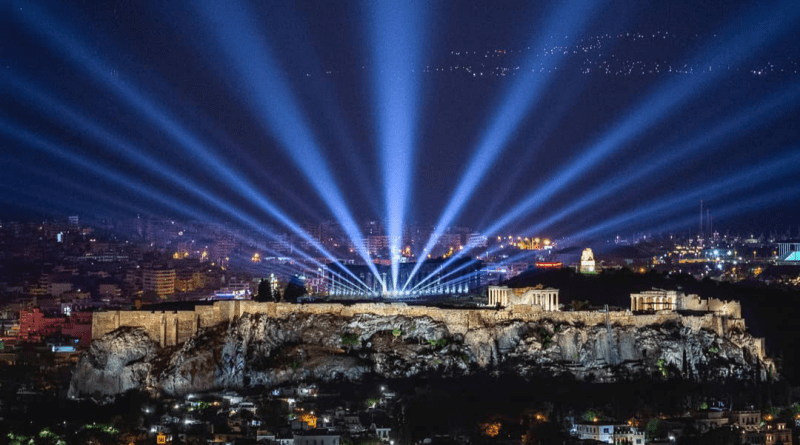 Greece Unveils New Lighting for the Acropolis (photos & video)