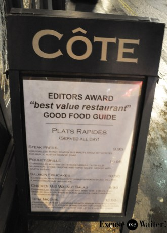 England Excuse Me Waiter A Food Blog