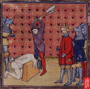 Tax-payer who was found to be keeping extra food for his family in Medieval France