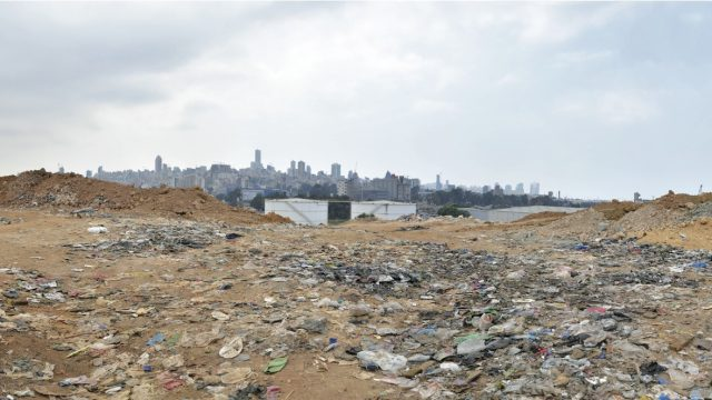 Image result for bourj hammoud landfill