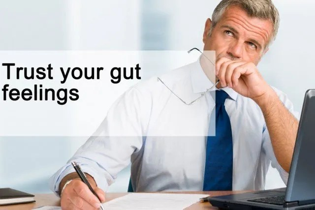 Trust Your Gut Feelings Executive Connexions