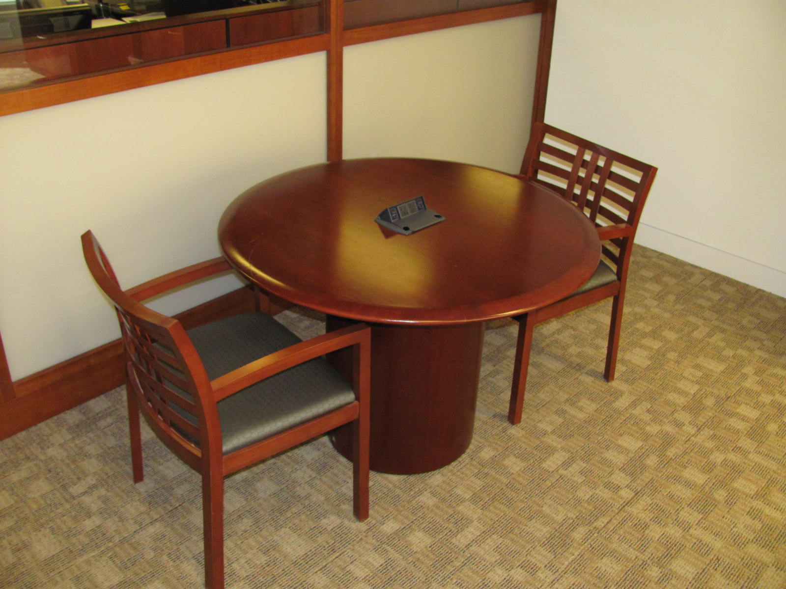 Vecta 42 Round Conference Table Executive Liquidation