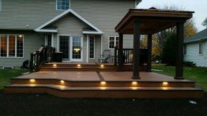 new deck built by Executive Properties