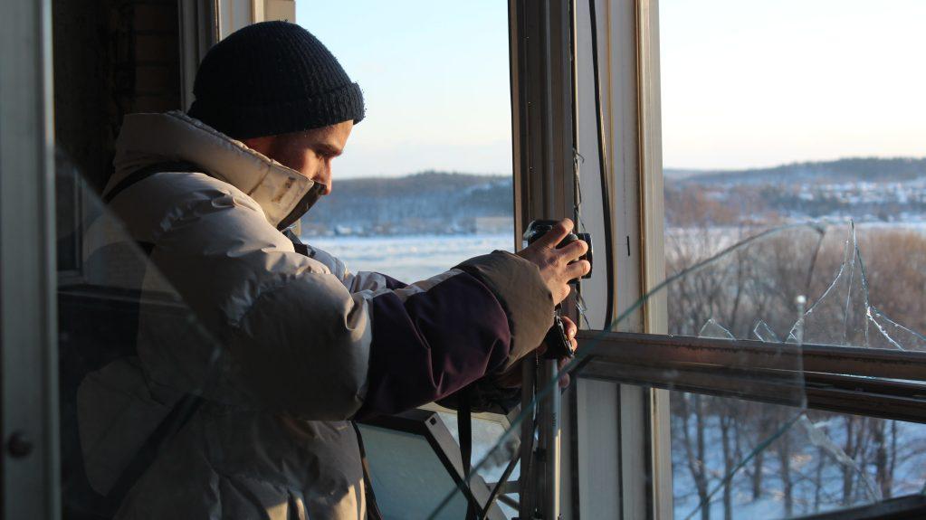 Christophe pratique l'exploration urbaine depuis deux ans. Crédit photo : LT