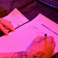 requête des chansons sur papier