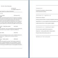 Cv D Un éducateur Spécialisé Exemple De Cv Info