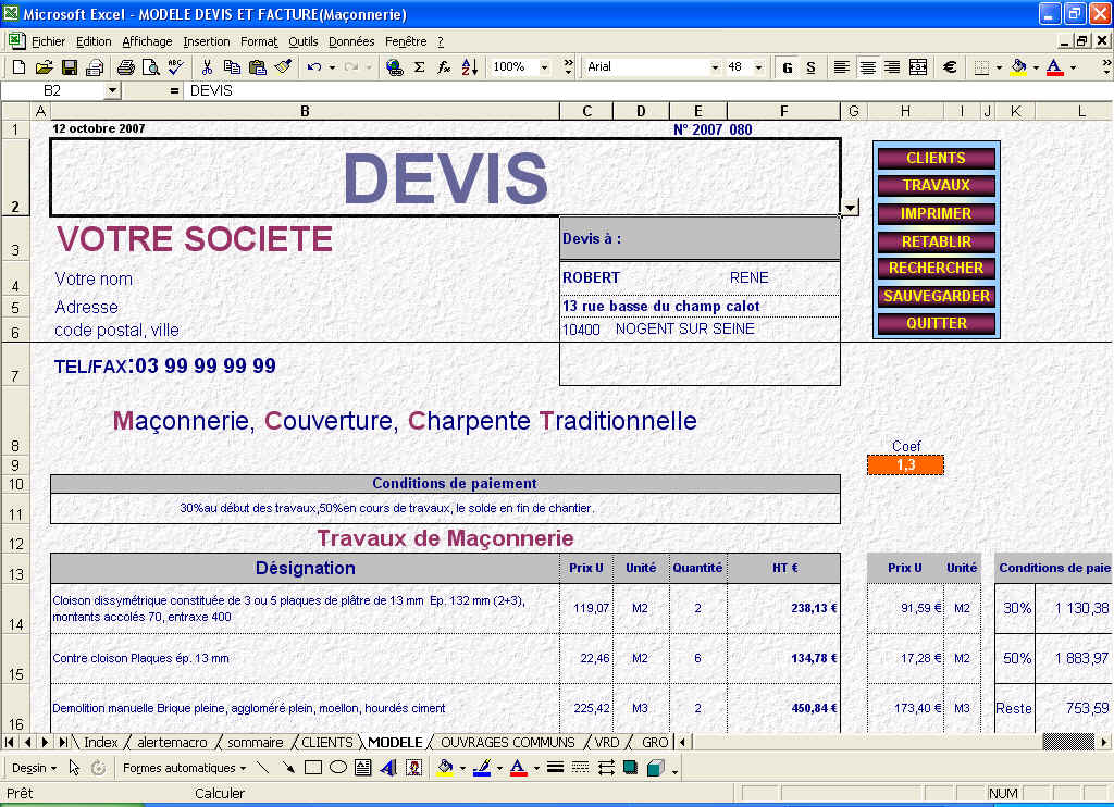 Photo Exemple De Devis De Nettoyage De Locaux