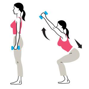 """Résultat de recherche d'images pour """"le squat exercice en dessin"""""""