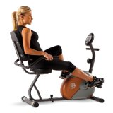 exercise bike benefits - woman