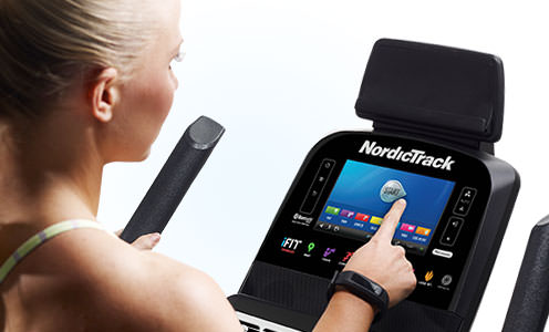 nordictrack 4.6 upright bike console