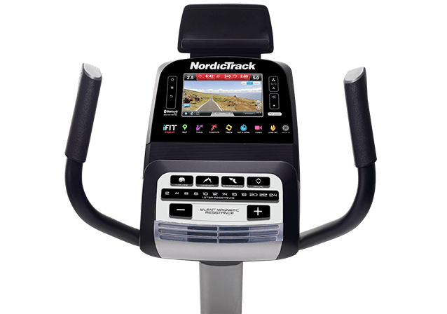 nordictrack 4.6 exercise bike console