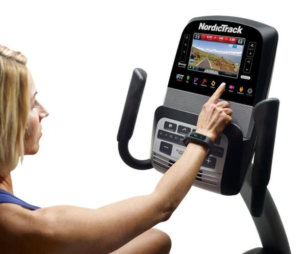 nordictrack commercial VR25 Recumbent bike Console