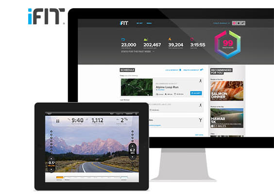 ifit live on Proform 740